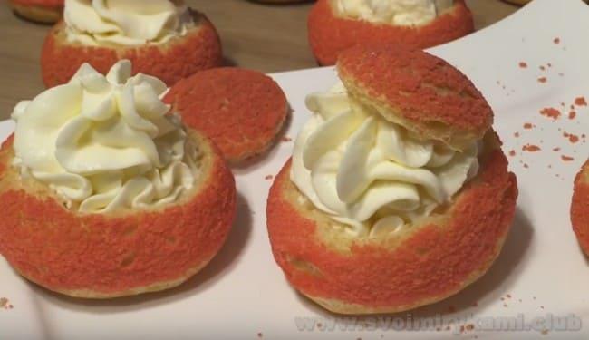 Французские пирожные шу готовы!