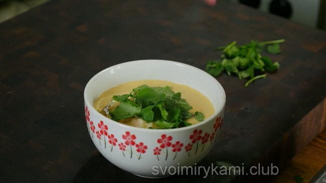 Вкуснейший тайский суп том ям