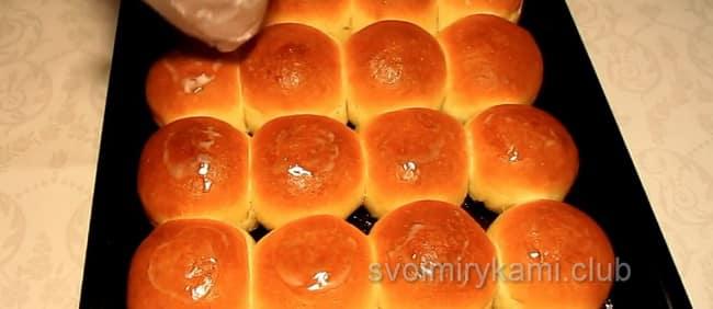 Вкуснейшие булочки готовы