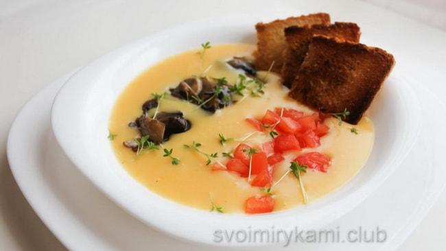 Вкуснейший овощной суп.