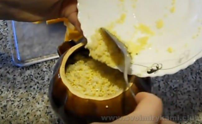 Приготовление пшенной каши с тыквой не требует особых кулинарных навыков.
