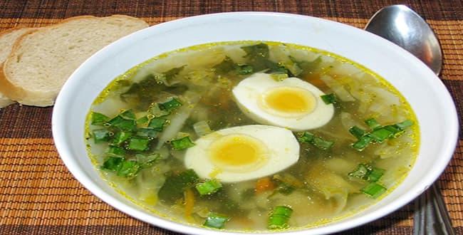 Пошаговый рецепт приготовления супа щи из крапивы