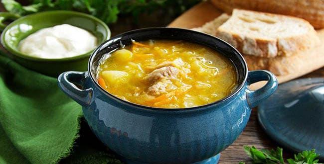 Пошаговый рецепт супа Щи из квашеной капусты