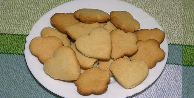 Пошаговый рецепт приготовления сахарного печенья