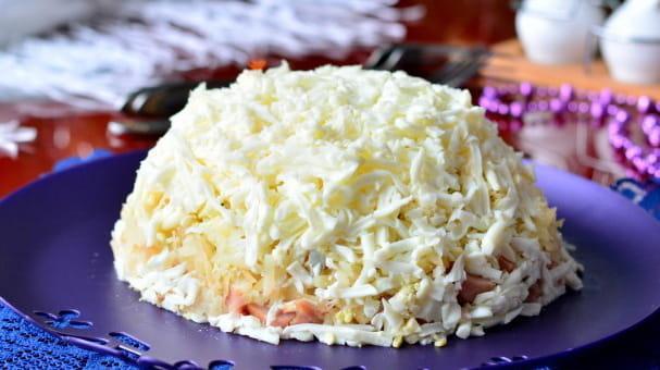 Салат Невеста простой 🥝 как приготовить пошагово, ну очень вкусный салат