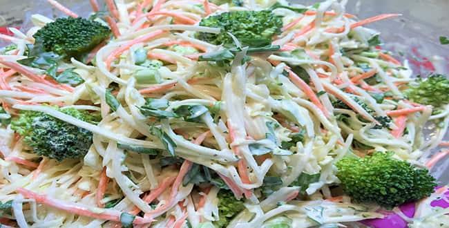 Пошаговый рецепт салата из редьки