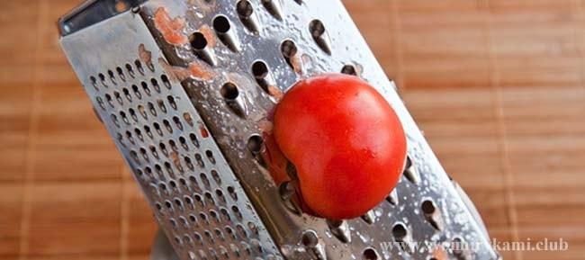 Трем помидор в соус для котлет