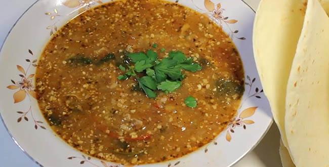 Пошаговый рецепт классического супа Харчо из баранины с рисом