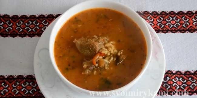 Суп Харчо готов