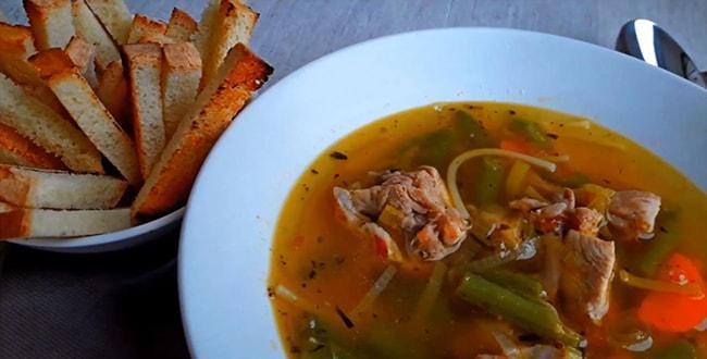 Пошаговый рецепт приготовления супа из кролика