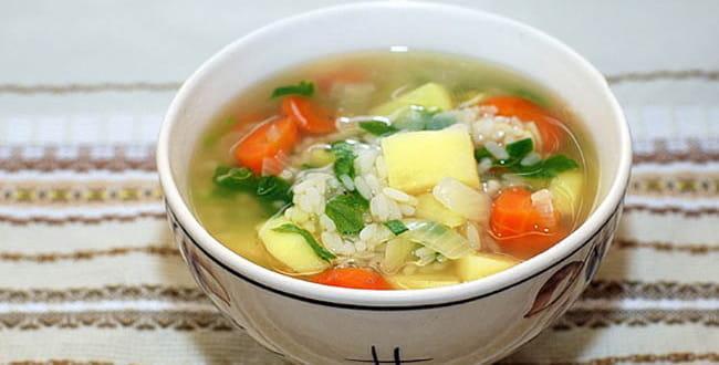 Пошаговый рецепт куриного супа с рисом и картошкой