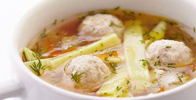 Пошаговый рецепт супа с рыбными фрикадельками