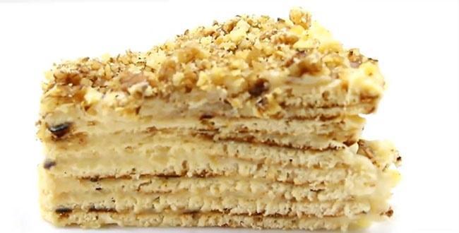 Пошаговый рецепт приготовления торта на сковороде с фото