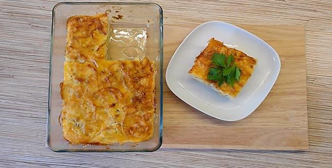 Пошаговый рецепт запеканки из кабачков в духовке