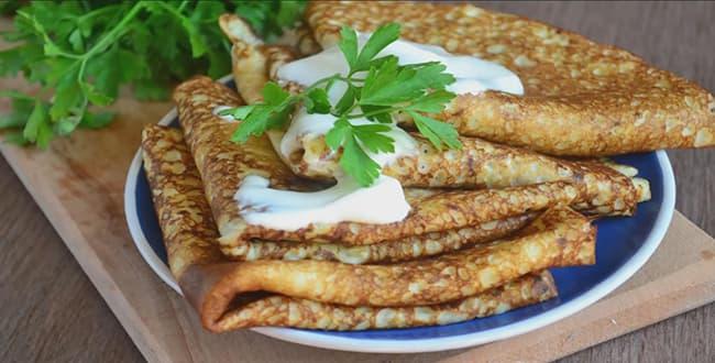 Пошаговый рецепт приготовления блинов из кабачков