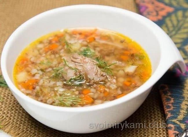 как варить суп из тушенки говяжьей