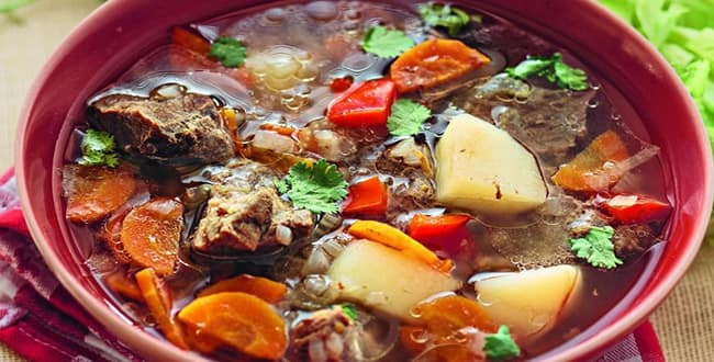 Пошаговый рецепт приготовления супа из баранины