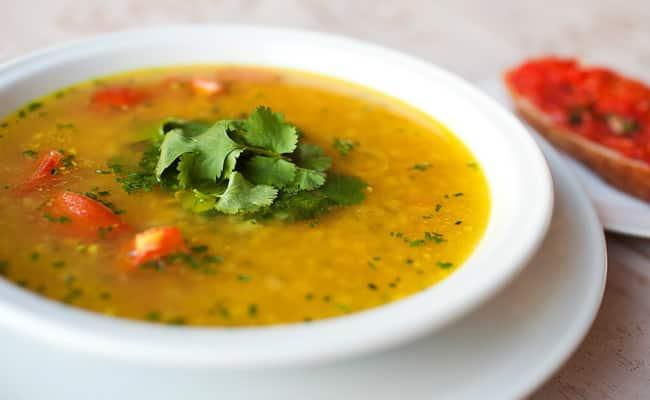 Суп из чечевицы готов.