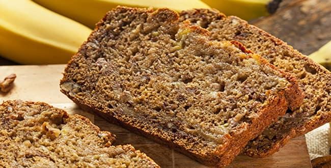 Пошаговый рецепт приготовления бананового хлеба