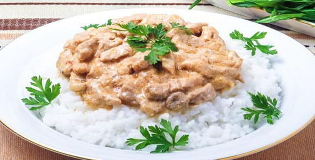 Как приготовить бефстроганов из свинины по пошаговому рецепту с фото