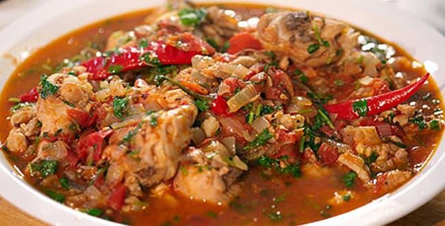 Пошаговый классический рецепт приготовления чахохбили из курицы