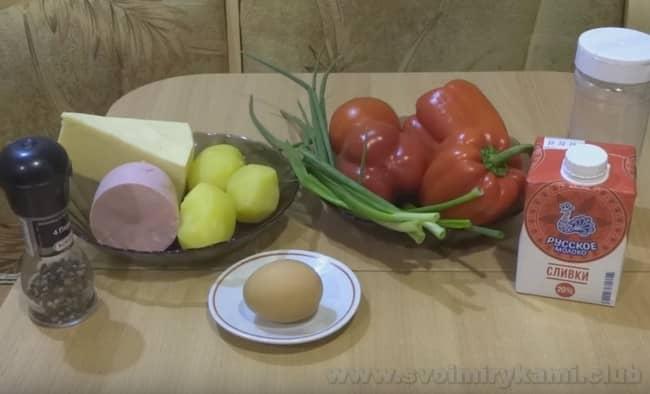 Предлагаем вашему вниманию рецепт фаршированного перца половинками в духовке.