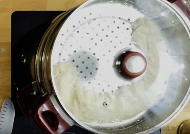 Теперь вы знаете, как готовится ханум в мантоварке, благодаря рецепту с пошаговыми фото.