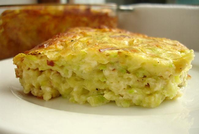 рецепт кабачковой запеканки с сыром в мультиварке