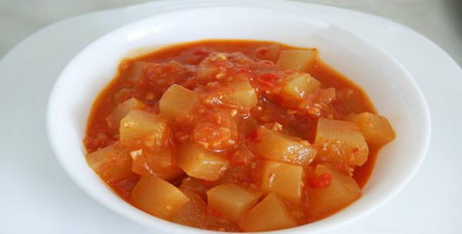 Пошаговые рецепты кабачков в томатном соусе на зиму