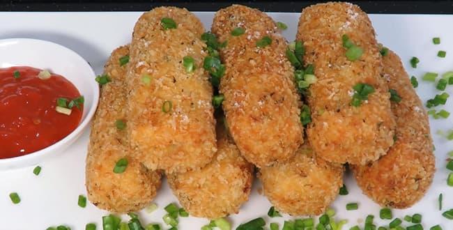 Пошаговый рецепт приготовления картофельных крокетов