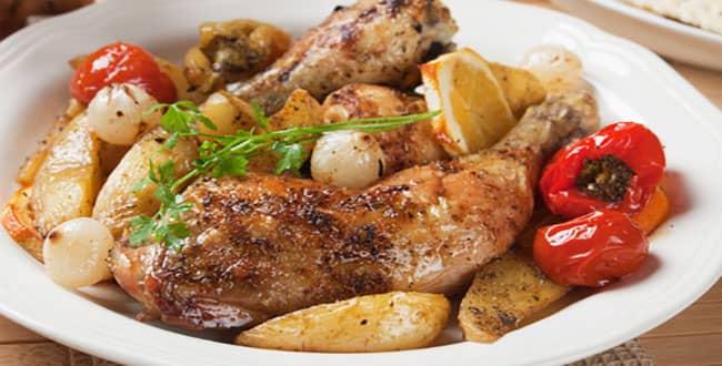Пошаговый рецепт курицы с картошкой в мультиварке