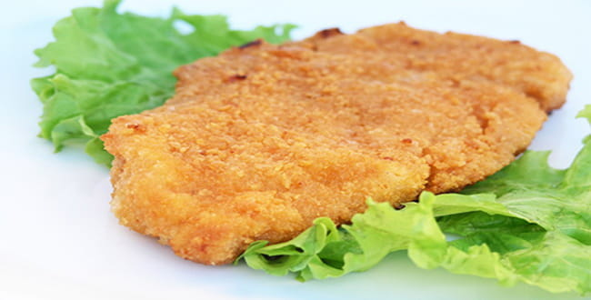 Пошаговый рецепт приготовления куриного шницеля