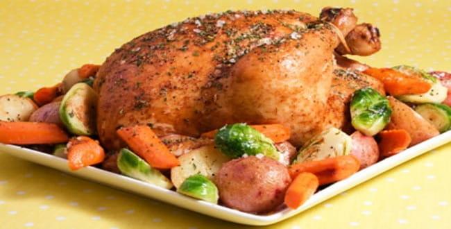 Как приготовить курицу с картошкой в духовке по пошаговому рецепту с фото