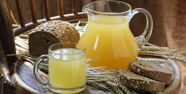 Овсяный квас рецепт 🥝 чем полезен напиток, как приготовить с медом, как пить
