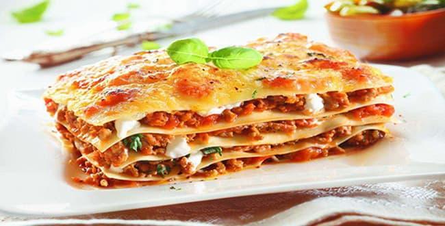 Пошаговый рецепт приготовления классической лазаньи болоньезе