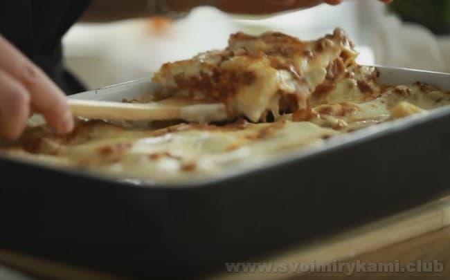 Предлагаем вашему вниманию классический рецепт лазаньи.