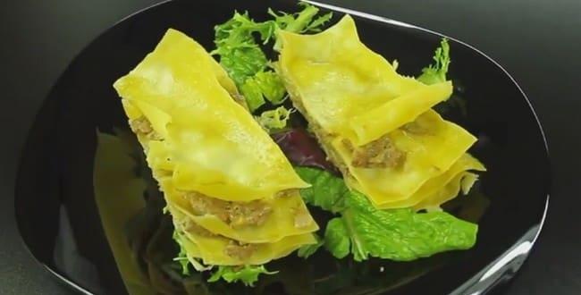 Пошаговый рецепт приготовления лазаньи в мультиварке
