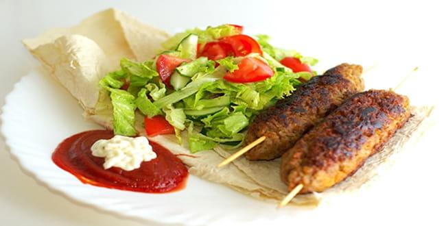 Пошаговый рецепт приготовления люля-кебаба на сковороде