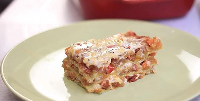 Рецепт лазаньи с фото 🥝 как приготовить с овощами, сыром и соусом бешамель