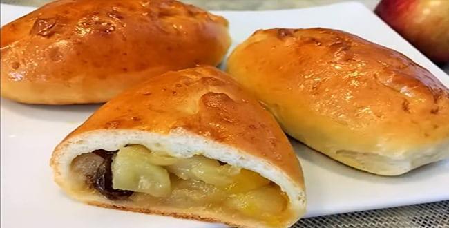 Пошаговый рецепт приготовления пирожков с яблоками
