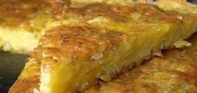 Запекаем в духовке запеканку из тертого картофеля