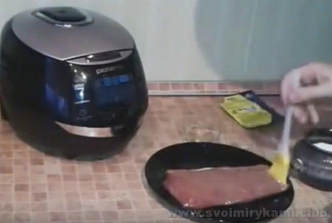 Маринованный ростбиф из говядины можно также приготовить в мультиварке по простому рецепту с фото.