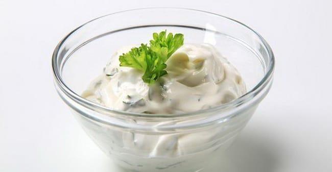 Соус тартар для картофельных крокет.