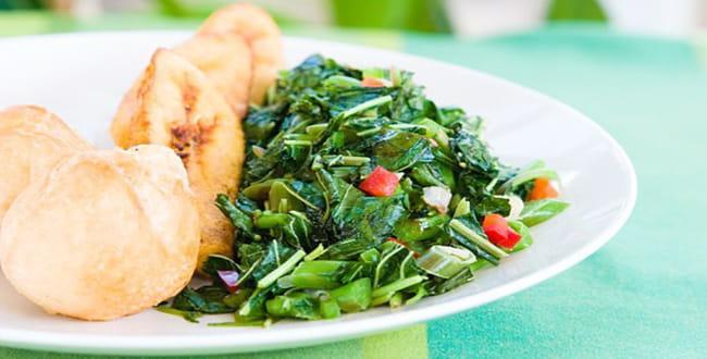 Пошаговый рецепт как приготовить свежий шпинат на гарнир