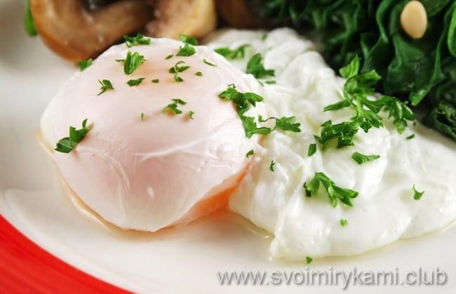 Традиционный рецепт яиц пашот