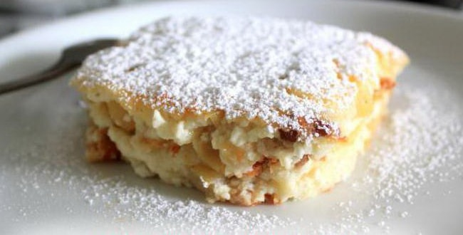 Как приготовить творожную запеканку с яблоками в духовке по пошаговому рецепту с фото