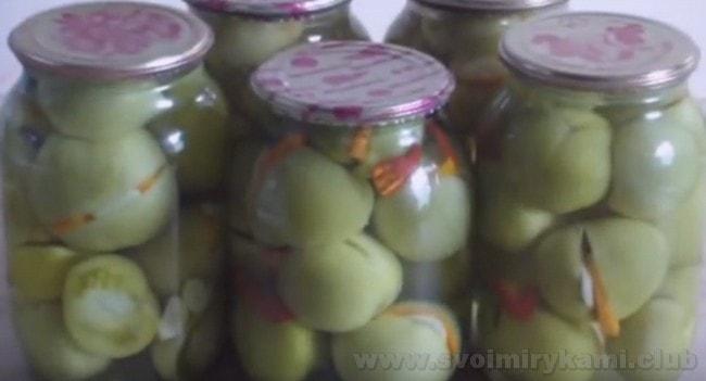 Фаршированные зеленые помидоры, приготовленные по нашему простому рецепту, будут очень вкусными.