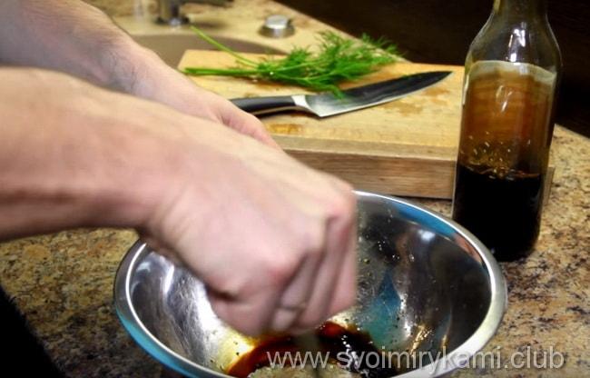 Готовим маринад для стейка