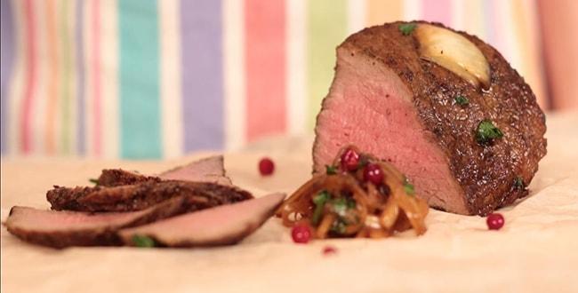 Пошаговый классический рецепт приготовления ростбифа из говядины
