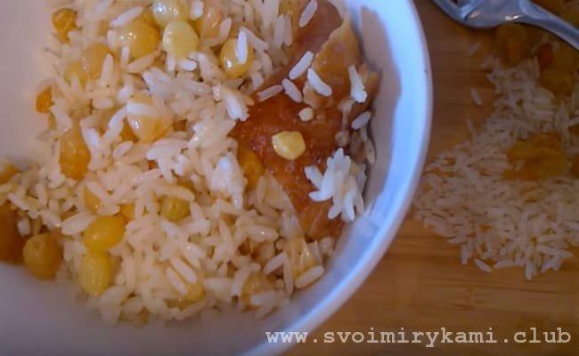 Вот и все, наша рисовая каша готова и теперь ее можно смело подавать на стол.